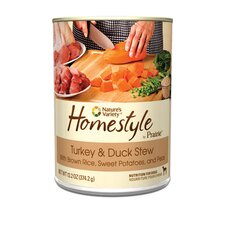Prairie Homestyle Turkey and Duck Stew Canned Dog Food (13.2-oz, case of 12)