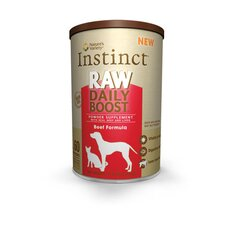 Instinct Raw Daily Boost Freeze Dried Supplement Beef Formula Treat