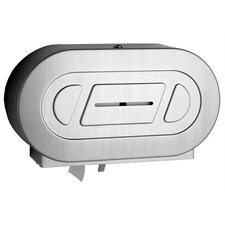 <strong>Bobrick</strong> Classic™ Series Twin Jumbo-Roll Toilet Paper Dispenser