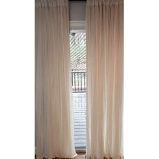 Whisper 100% Rod Pocket Window Treatment Single Panel