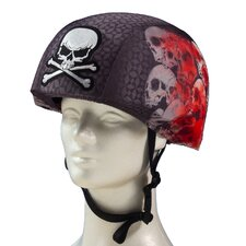 Screaming Skulls Helmet Cover