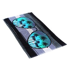 Sunglass Beach Towel