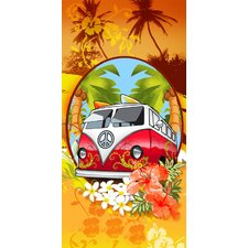 Hippie Mobile Beach Towel