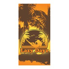 Lazy Day Beach Towel