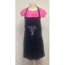 <strong>Kaufman Sales</strong> Mommy Needs A Time Out Rhinestone Printed Apron