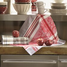 Pauline Rubis and Gris Table Linen