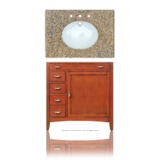 "Metropolitan 37"" Single Basin Vanity Set"