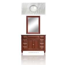 "Martinsville 48"" Single Basin Vanity Set"
