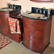"Jasmine 91"" Double Basin Vanity Set"