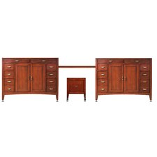 "Metropolitan 133"" Double Basin Vanity Set"