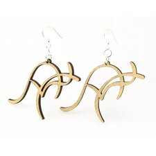 Kangaroo Earrings