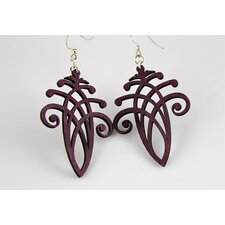 Enlaced Acorn Earrings