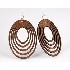Ovals Offset Earrings
