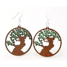 Bonsai  Tree Earrings