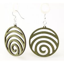 Wave Circles Earrings