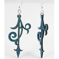 Scroll Ornament Earrings