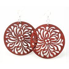 Raindrop Circle Earrings