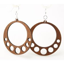 Hanging Circle Earrings