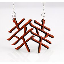 Kanji - Luck Earrings