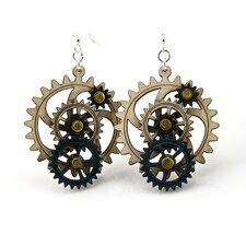 Kinetic Gear 3 Earrings