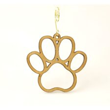 Dog Paw Ornament