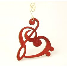<strong>Green Tree Jewelry</strong> Treble Clef Ornament