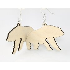 Polar Bears Earrings