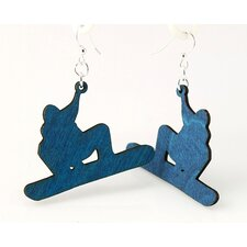 Snowboarder Earrings