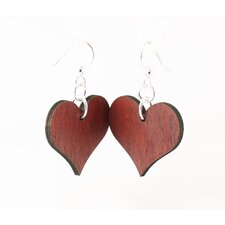 Small Solid Hearts Earrings