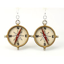 Compasses Earrings