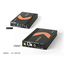Professional Video/S-Video and Audio to HDMI Converter Scaler