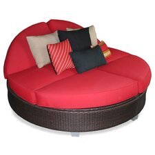<strong>Patio Heaven</strong> Signature Round Double Chaise Lounge