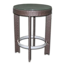 <strong>Patio Heaven</strong> Signature Round Bar Table Set