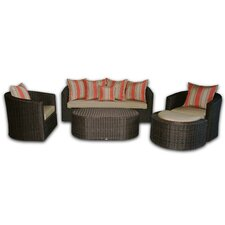 <strong>Patio Heaven</strong> Palomar Deep Seating Group with Cushions
