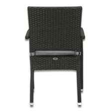 <strong>Patio Heaven</strong> Skye Stacking Dining Arm Chair