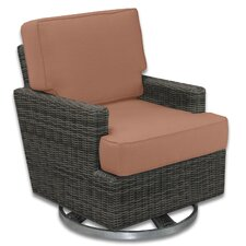 <strong>Patio Heaven</strong> Palisades Swivel Rocker