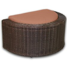 <strong>Patio Heaven</strong> Palomar Ottoman with Cushion