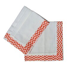 <strong>Lowcountry Linens</strong> ZigZag Dinner Napkin (Set of 4)