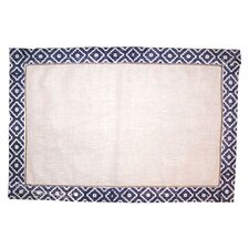 Morocco Placemat in Navy