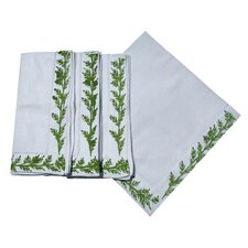 <strong>Lowcountry Linens</strong> Pine Garland Dinner Napkin (Set of 4)