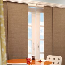Double Rail Sliding Jute Blind Panels