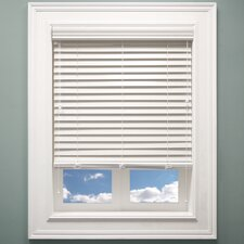 Faux Wood Pleated Blind