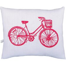 <strong>Artgoodies</strong> Bike Block Print Squillow Accent Pillow