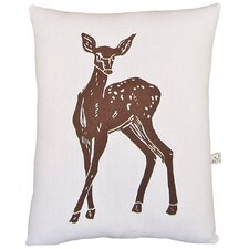 <strong>Artgoodies</strong> Deer Block Print Squillow Accent Pillow