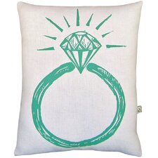 Ring Block Print Squillow Accent Pillow