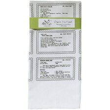 <strong>Artgoodies</strong> Organic Retro Recipes Dessert Tea Towel