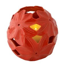 <strong>Pacific Accents</strong> Jasper Floral Luminary Candle Holder