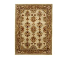 Tempest Ivory/Dark Brown Rug