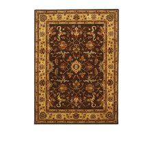 <strong>Liberty Oriental Rugs</strong> Tempest Cola/Red Rug