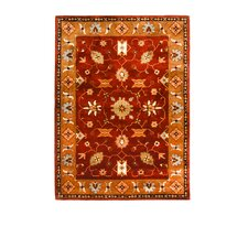 Tempest Rust/Dark Gold Rug